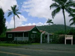 Postcards Cafe in Hanalei, Kauai