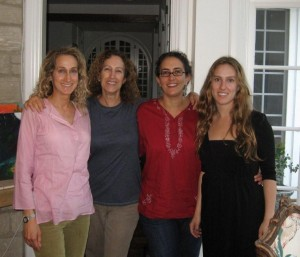 Marti and her three daughters