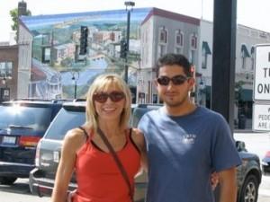 Deborah and Her Son Adam