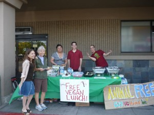 San Diego Volunteers for Meatout Day