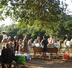 Vegan Dishes Left and Right at Community Farm