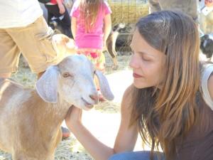 Teagen at Animal Acres