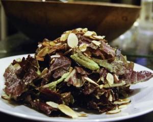 Toasted Almond Caesar Salad